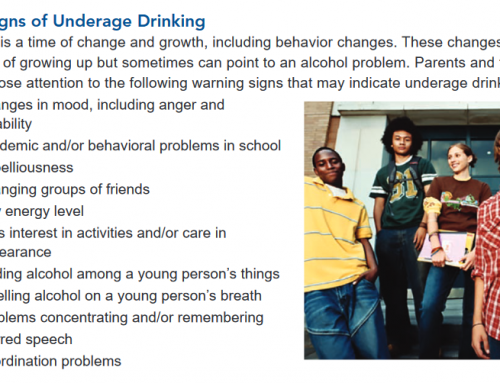 Underage Drinking: Warning Signs and Action Checklist